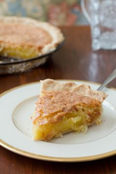 French Coconut Pie | dramatic pancake