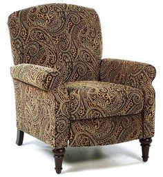 Paisley Hi Leg Recliner by Comfort Living...Width: 33  x  Depth: 35  x  Height: 39