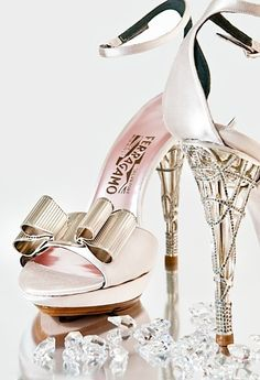 #Ferragamo. #wedding. #sandals. #heels