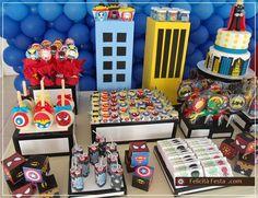 Mesa Principal doces e bolo