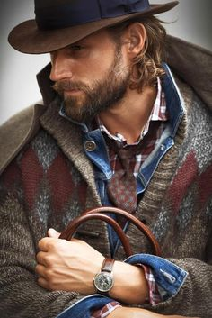 mens fashion Rugged Fall Fashion for Men. mens fashion and style Rugged Style, Mens Fashion Blog, Best Mens Fashion, Men's Fashion, Fashion Casual, Sharp Dressed Man, Well Dressed Men, Style Brut, Men's Style