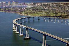 Coronado Bay Bridge - San Diego