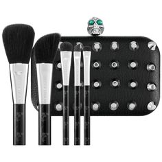 New at Sephora: Drop Dead Gorgeous Brush Set #makeup #brushsets