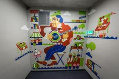 Murale ozdobiły wnętrze warszawskiej siedziby Deloitte - Brief