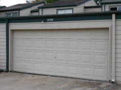 two car electric garage door