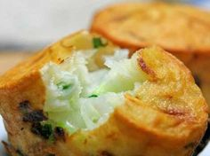 """YouDunZi is another yummy local snack of Shanghai. It is also known as """"oil-grilled turnip cake"""" as it is stuffed with shredded turnip."""