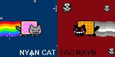 Nyan cat vs tac nayn