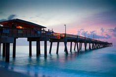 My final resting place is a pier in Coco Beach, Florida that looks just like this. At sunrise my husband and children will scatter my ashes at the furthest point of this pier and I will become one with all that I love.