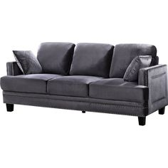 You'll love the Rigg Nailhead Sofa at Wayfair - Great Deals on all Furniture products with Free Shipping on most stuff, even the big stuff.