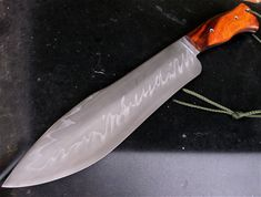 Show me your custom camp knife/chopper. - Page 17