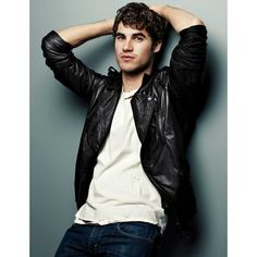Darren Criss ❤ liked on Polyvore featuring darren criss, people, boys, glee and guys