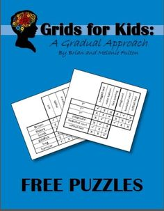 A free book of logic puzzles for children. Happy puzzling!!
