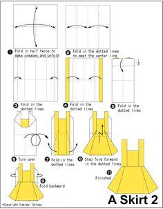 Origami Skirt2