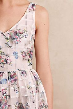 Love This Peony Garden Dress! anthropologie.com