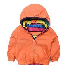 Reversible Hooded Jacket for Children | LittleTroubleMakers