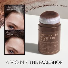 Discover the AVON X The Face Shop Root Touch-Up Reddish Brown. Cover those greys like a pro with this easy to apply root touch up. Shop now. The Face Shop, Root Touch Up Powder, Chi Hair Products, Avon Products, Beauty Products, Hair Puff, Hair Essentials, Eye Lift, Cover