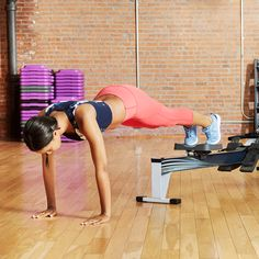 Plank to Pike 8 to 10 reps (or as many as you can)