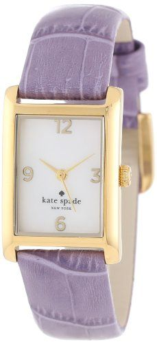 Kate Spade Watches Women%27s 1YRU0210 Light Crocus Embossed Croc Cooper Strap Watch