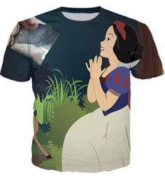 Snow White begging T-Shirt The Little Mermaid, Cool Shirts, Snow White, Cool Stuff, Mens Tops, T Shirt, Collection, Women, Fashion