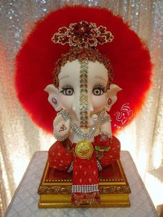 Shri Ganesh Images, Ganesha Pictures, Lord Krishna Images, Radha Krishna Pictures, Baby Ganesha, Baby Krishna, Cute Krishna, Ganesh Idol, Ganesha Art