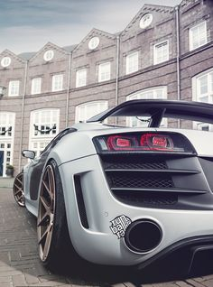 Audi R8 GT.  Car of the Day: 13 June 2014.