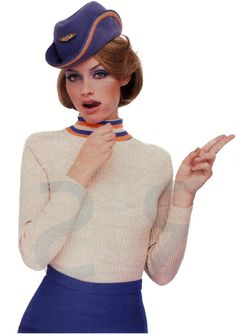 air hostess... halloween idea?!