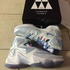 best sneakers a345a a0976 Lebron xiii Xmas size 10 Ice cold never been used Nike Shoes Sneakers