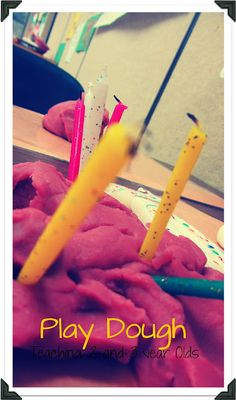 Teaching 2 and 3 Year Olds: Play Dough...Made Bailey lots of homemade play-doh today, good ideas to go with it...