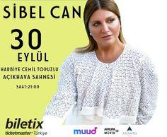 """""""Muud'una göre özgürce müzik""""  Müziğin sesi Muud ile Harbiye'de yükseliyor! Sibel Can, 30 Eylül Cumartesi günü Harbiye Cemil Topuzlu Açıkhava Sahnesi'nde!"""