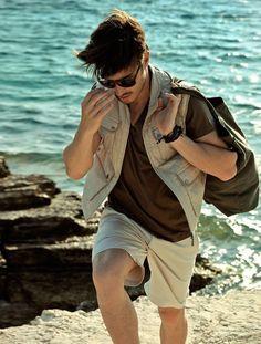 Idée et inspiration Look pour homme tendance 2017   Image   Description   Beach | Summer Menswear
