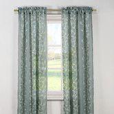 Found it at Wayfair - Kerr Linen Rod Pocket Sheer Curtain Panels  white---all over vine, not vertical  1pr 29.00