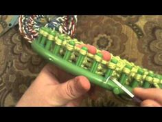 Loom Knit - Make a Granny round