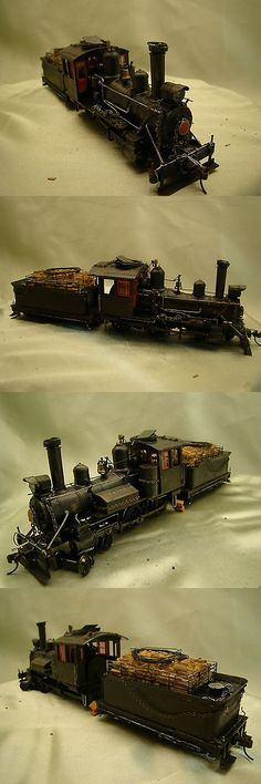 Other Narrow Gauge 9037: Ho On30 Logging Engine Dcc - Custom Weathered, Painted, Decorated - Lot A -> BUY IT NOW ONLY: $255 on eBay!