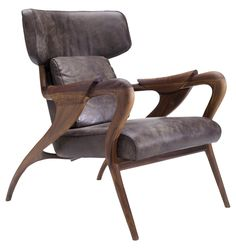 Buy Isadora Chair by Camus by Collective Form - Made-to-Order designer Furniture from Elle Decor's collection of Mid-Century / Modern Traditional Armchairs & Club Chairs. Modern Armchair, Occasional Chairs, Elle Decor, Club Chairs, Contemporary Furniture, Mid-century Modern, Modern Traditional, Home Furnishings, Furniture Design
