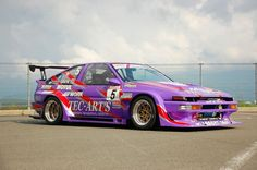 N2 Class Act Ae86 Trueno at high speeds on OG WORK Equip 03′s..