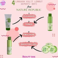 Lip Care, Body Care, Nature Republic Aloe Vera, Skincare For Oily Skin, Best Skin Care Routine, Skin To Skin, Face Skin Care, Skin Makeup, Natural Skin Care