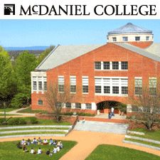 McDaniel College (Western Maryland College when I graduated)