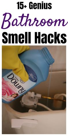 Household Cleaning Tips, House Cleaning Tips, Diy Cleaning Products, Cleaning Solutions, Cleaning Hacks, Cleaning Recipes, Hacks Diy, Cleaning Supplies, Bathroom Hacks