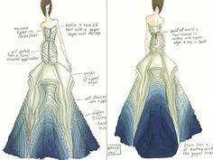 just gorgeous, can't say it enough ->Tara LaTour Wedding Dresses