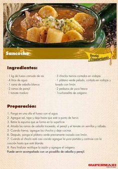 from Recetas Ecuatorianas Seafood Recipes, Soup Recipes, Kitchen Recipes, Cooking Recipes, Colombian Cuisine, Lean And Green Meals, Spanish Dishes, Comida Latina, Latin Food
