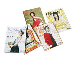 Gloss Finish Magazines