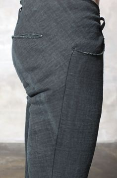 grey denim different and not easy construction