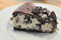 Bambi - Oreocheesecake med chokladganache