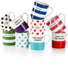 Kate Spade Coffee Mugs | The Ultimate Christmas Gift Guide