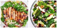 Whether you prefer apple cranberry salad or apple walnut salad, we rounded up some of our favorite recipes. Apple Cranberry Salad, Apple Walnut Salad, Apple Salad Recipes, Appetizer Salads, Cooking Recipes, Healthy Recipes, Salad Bar, Healthy Smoothies, Summer Recipes