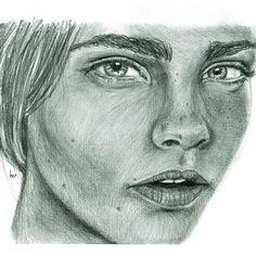 cara delvingne test piece. #portraiture #graphitepencil #traditionalart #realism #caradelevingne #fanart