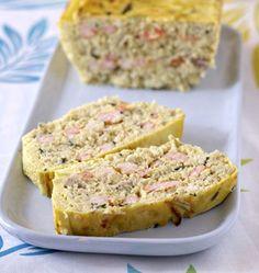 Terrine de poisson blanc aux crevettes. Crevettes creme de soja cabillaud oeufs sel poivre ciboulette oignon vin blanc