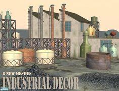 Cyclonesue's Industrial Decor