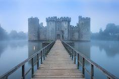 Bodium Castle, England. #travel-paradise divine england