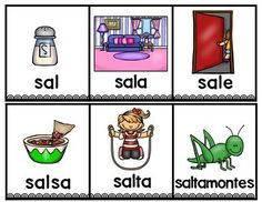 Spanish Worksheets, Spanish Alphabet, Guided Practice, Bilingual Education, Syllable, Learning Spanish, Kids And Parenting, Kindergarten, Classroom